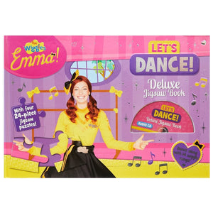 The Wiggles Emma Let's Dance Deluxe Jigsaw Book, [Product Type] - Daves Deals