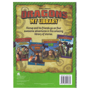 Dragons My Library 4 Book Slipcase, [Product Type] - Daves Deals