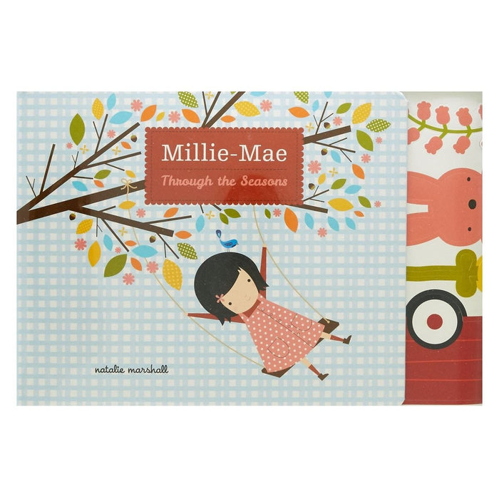 Millie-Mae Through the Seasons Book & Decal Set
