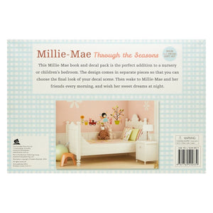 Millie-Mae Through the Seasons Book & Decal Set, [Product Type] - Daves Deals