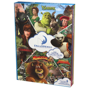 Dreamworks 4 Book Slipcase + Poster, [Product Type] - Daves Deals
