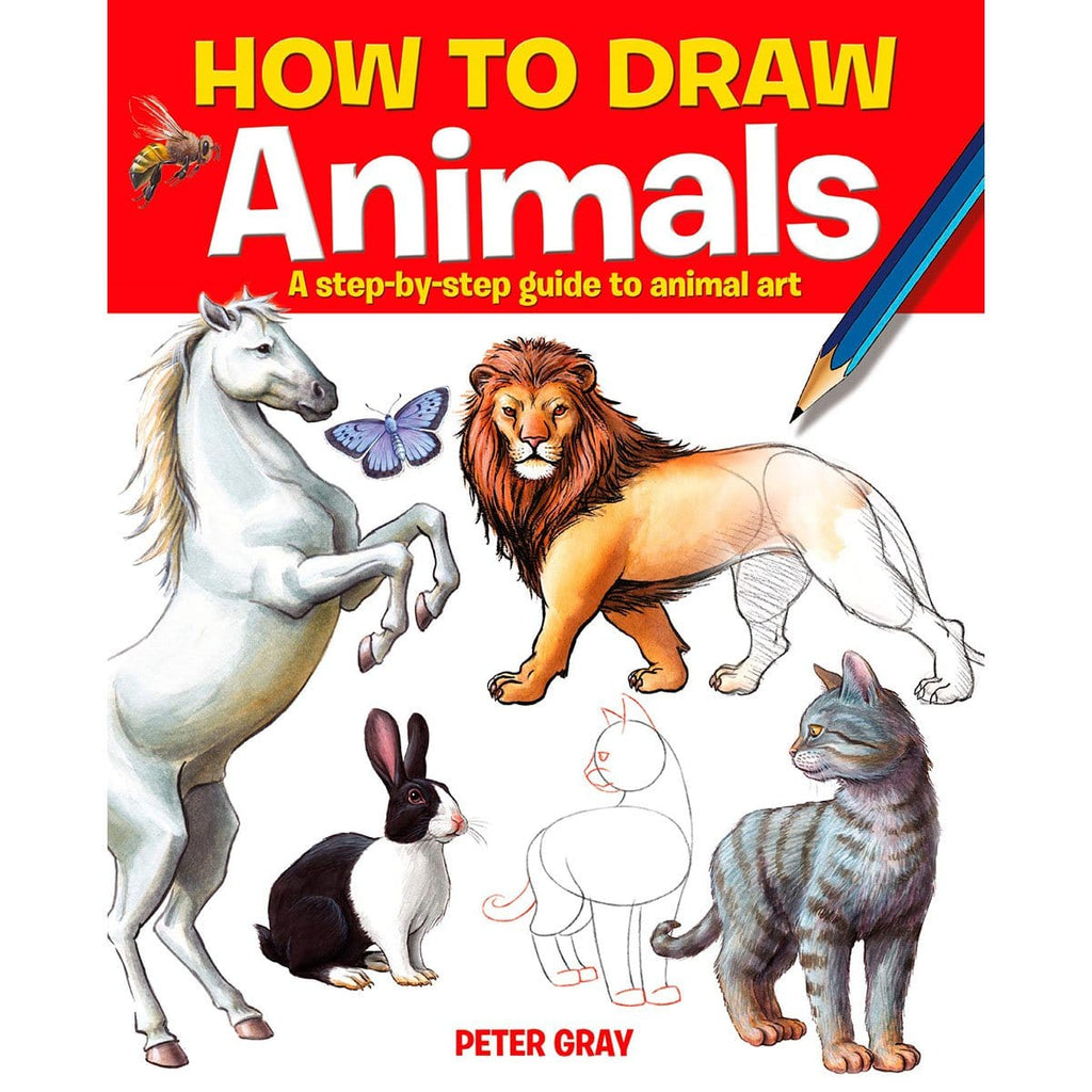 How to Draw Animals: A step-by-step guide to animal art, [Product Type] - Daves Deals