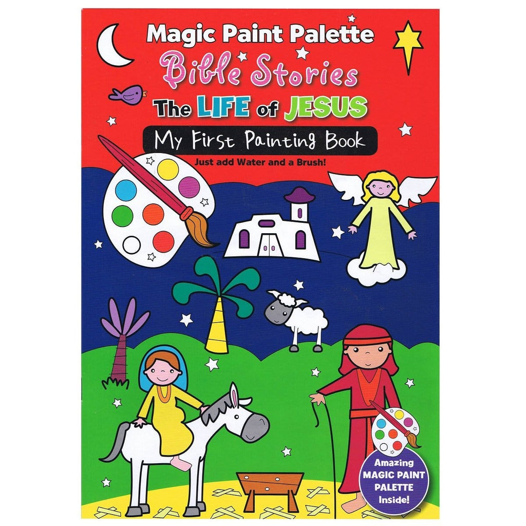 Magic Paint Pallette Bible Stories, The Story of Jesus, [Product Type] - Daves Deals