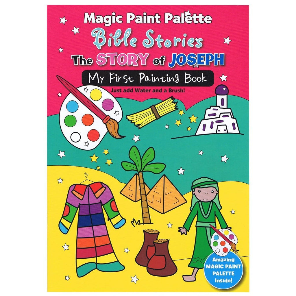 Magic Paint Pallette Bible Stories, The Story of Joseph, [Product Type] - Daves Deals