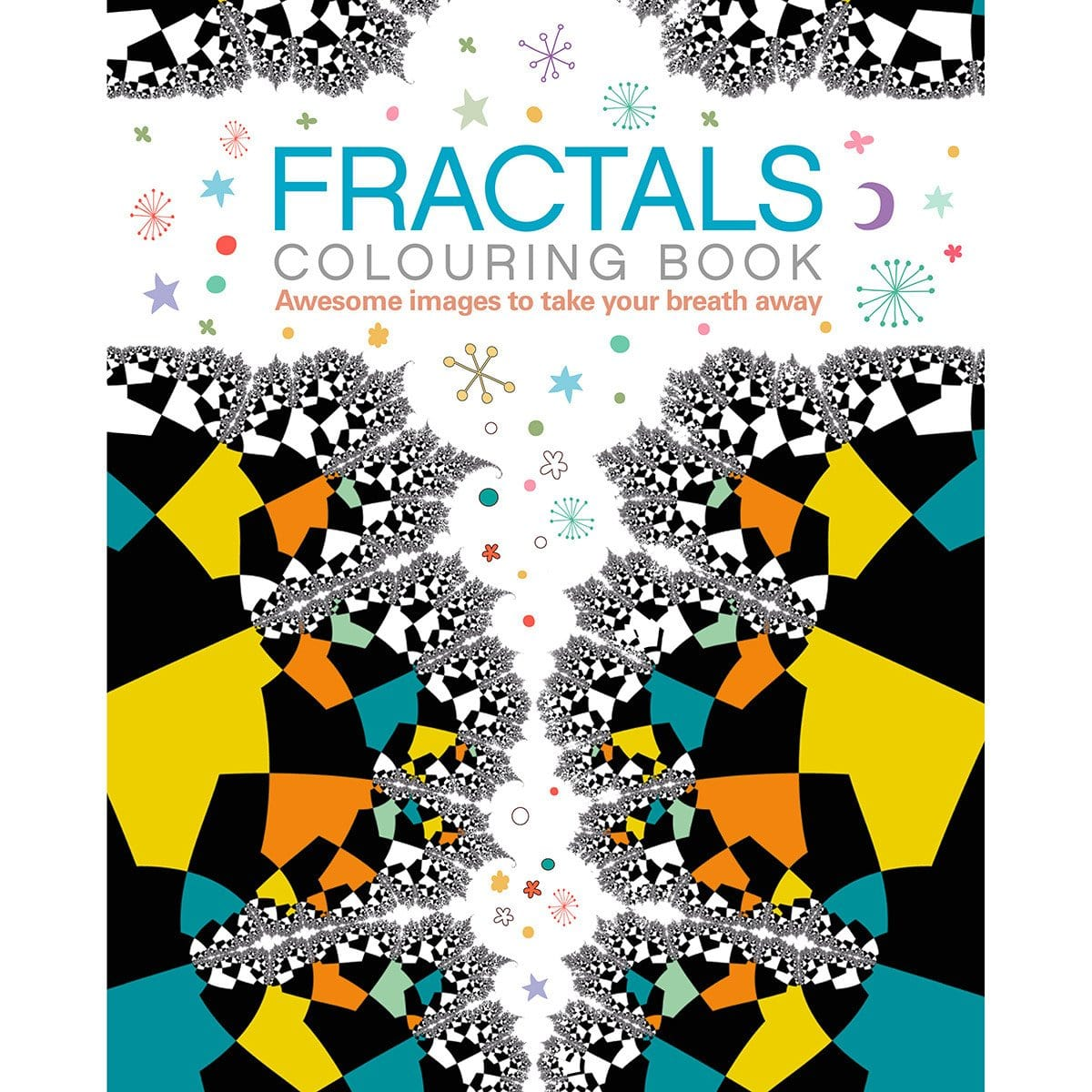 Fractals Colouring Book - By Arcturus Publishing