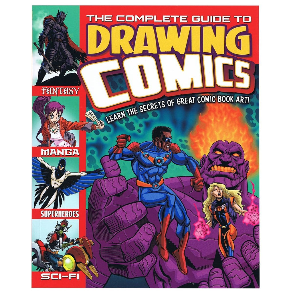 The Complete Guide to Drawing Comics - By Lisa Regan, [Product Type] - Daves Deals