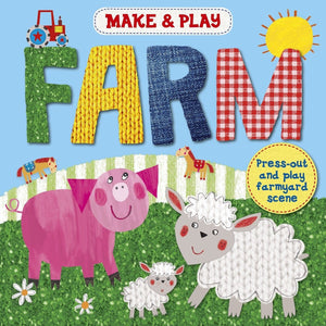 Make & Play Farm - Press-Out And Play Farm Models, [Product Type] - Daves Deals