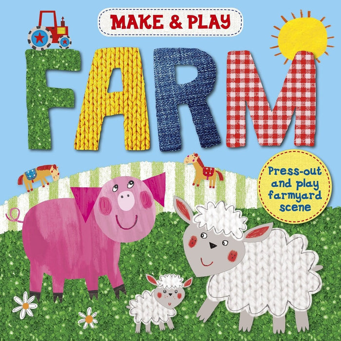 Make & Play Farm - Press-Out And Play Farm Models