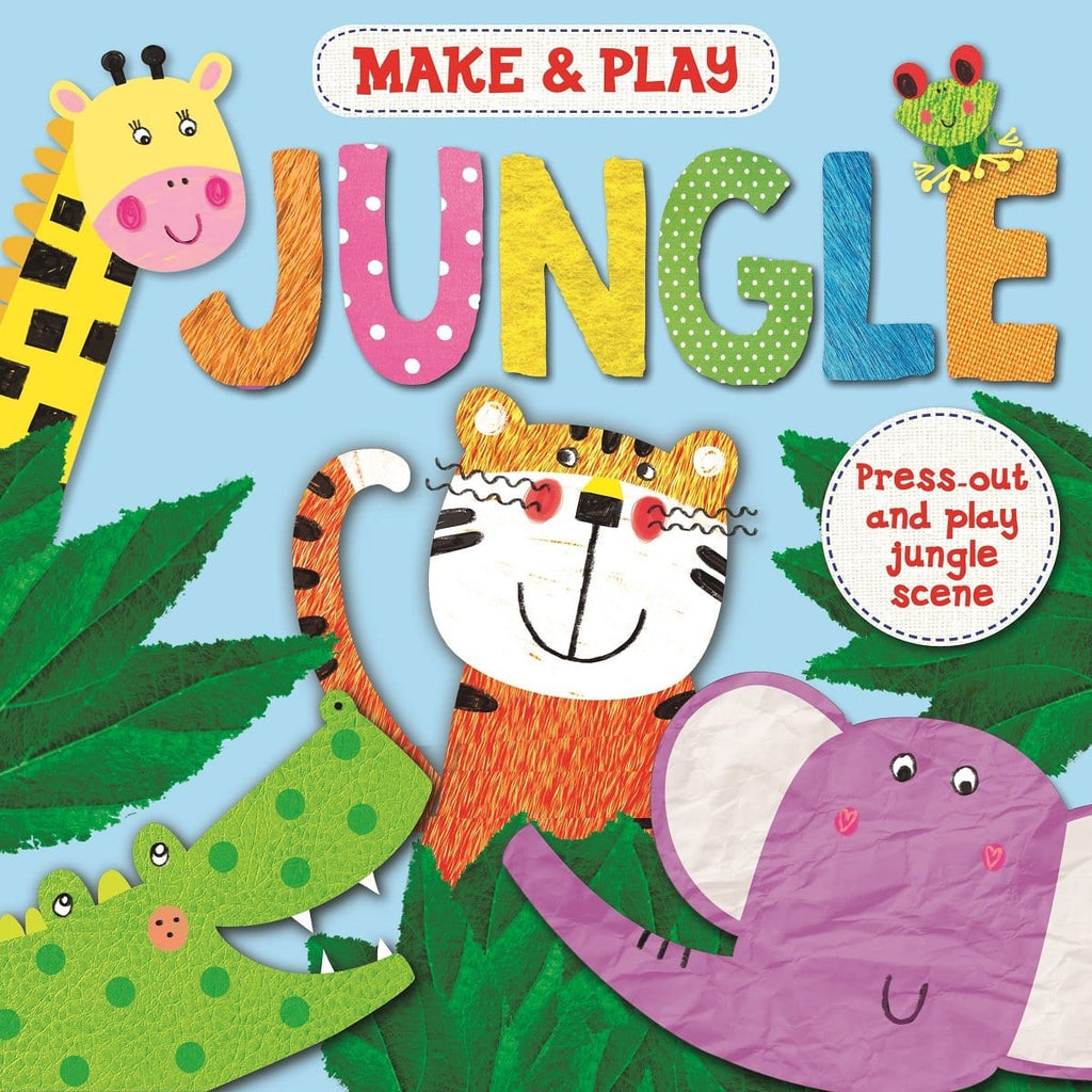 Make & Play Jungle - Press-Out And Play Jungle Models, [Product Type] - Daves Deals