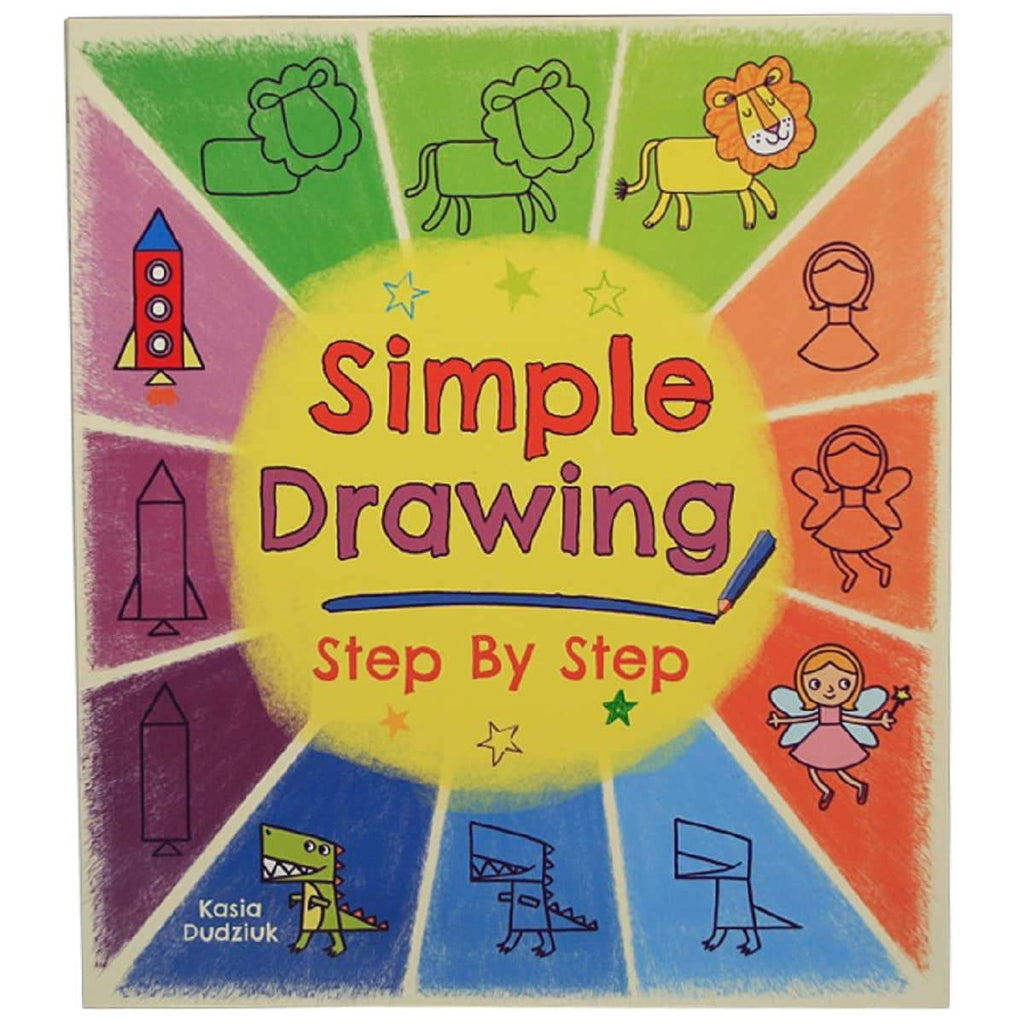 Simple Drawing Step by Step, [Product Type] - Daves Deals