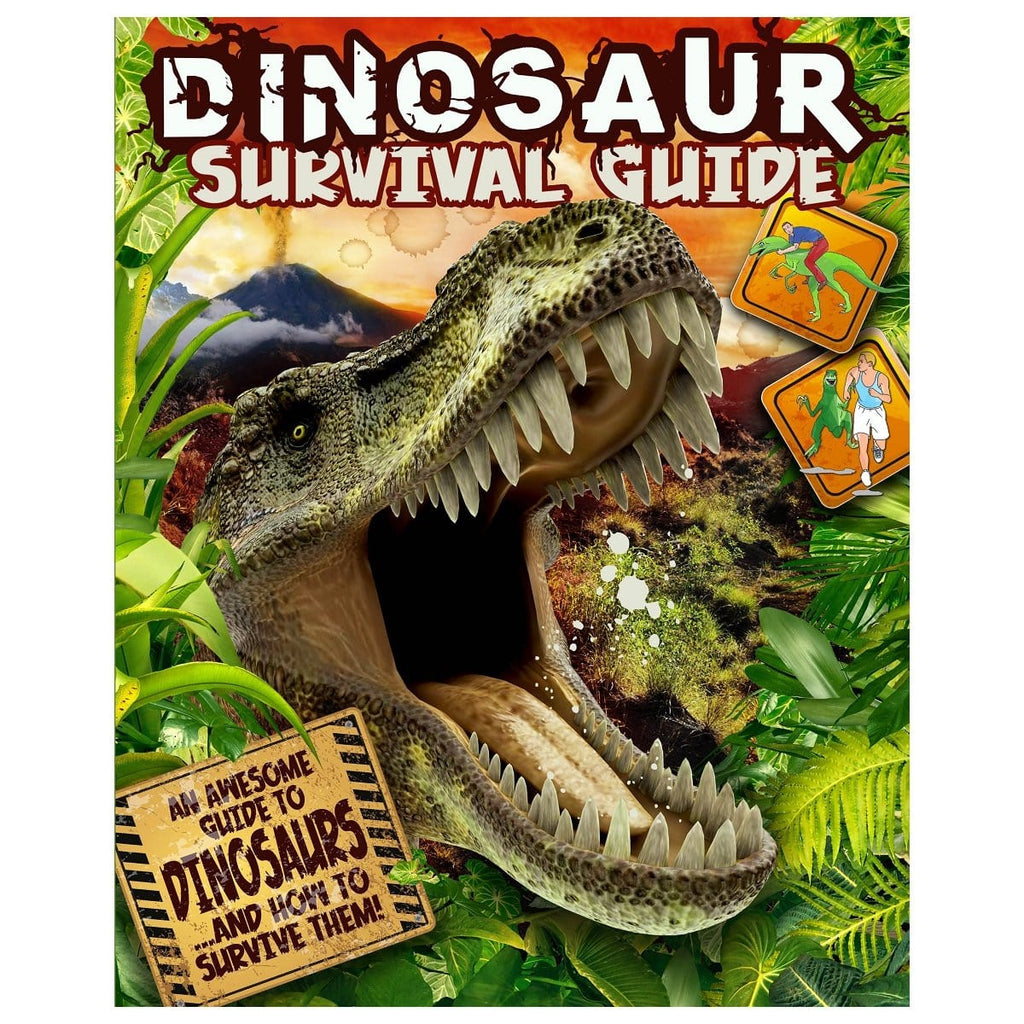 Dinosaur Survival Guide - An Awesome Guide To DinosaursÂ…And How To Survive Them!, [Product Type] - Daves Deals