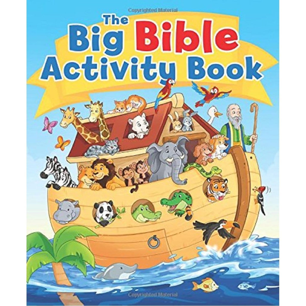 The Big Bible Activity Book - Daves Deals