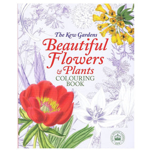 The Kew Gardens Beautiful Flowers & Plants Colouring Book