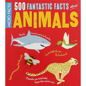 500 Fantastic Facts About Animals, [Product Type] - Daves Deals
