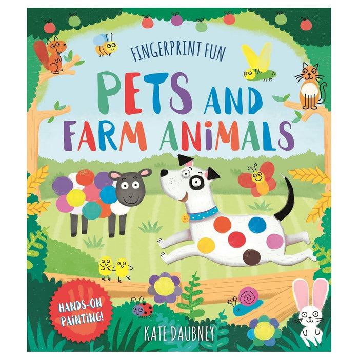Fingerprint Fun - Pets And Farm Animals