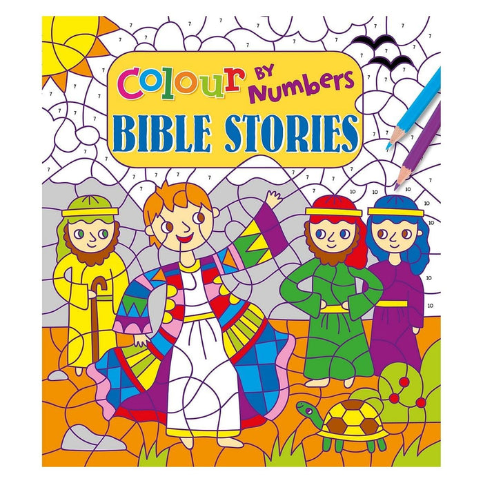 Colour By Numbers Bible Stories