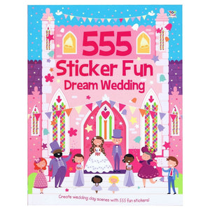 555 Sticker Fun Dream Wedding, [Product Type] - Daves Deals