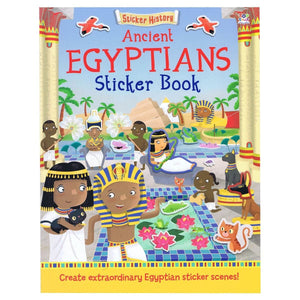 Sticker History - Ancient Egyptians Sticker Book, [Product Type] - Daves Deals