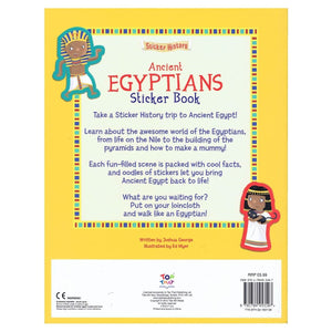 Sticker History - Ancient Egyptians Sticker Book