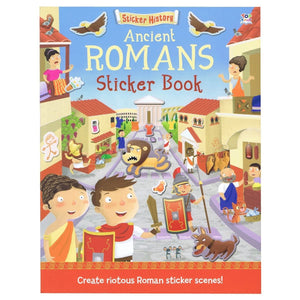 Sticker History - Ancient Romans Sticker Book
