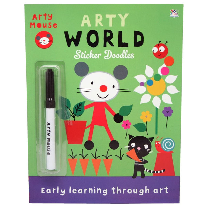 Arty World Sticker Doodles - Early Learning Through Art
