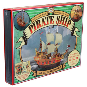 Press Out And Build - Pirate Ship, [Product Type] - Daves Deals
