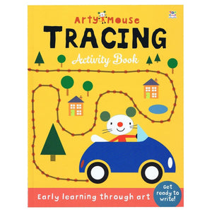 Arty Mouse Tracing Activity Book - Early Learning Through Art, [Product Type] - Daves Deals