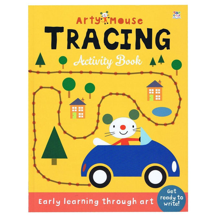 Arty Mouse Tracing Activity Book - Early Learning Through Art