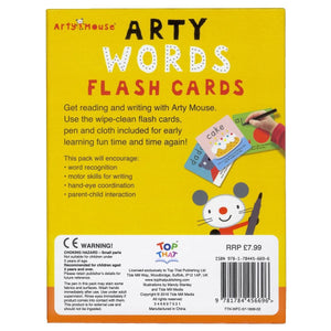 Arty Words Flash Cards