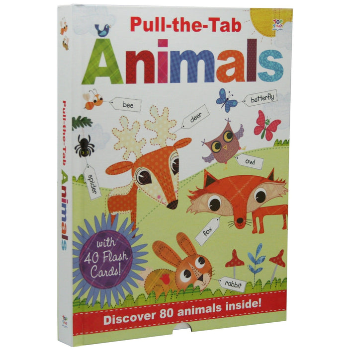 Pull-The-Tab Animals - By Oakley Graham, Illustrated by Steph Hinton