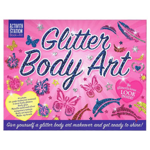 Glitter Body Art - Activity Station Book + Kit, [Product Type] - Daves Deals