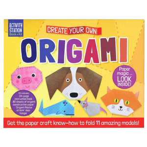 Create Your Own Origami - Activity Station Book + Kit