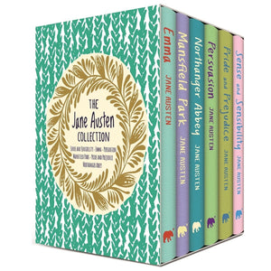 The Jane Austen Collection 6 Book Boxset, [Product Type] - Daves Deals