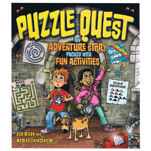Puzzle Quest - By Lisa Regan, Moreno Chiacchiera, [Product Type] - Daves Deals