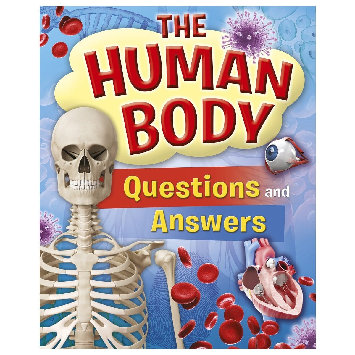 The Human Body Questions And Answers Learning Books Daves Deals