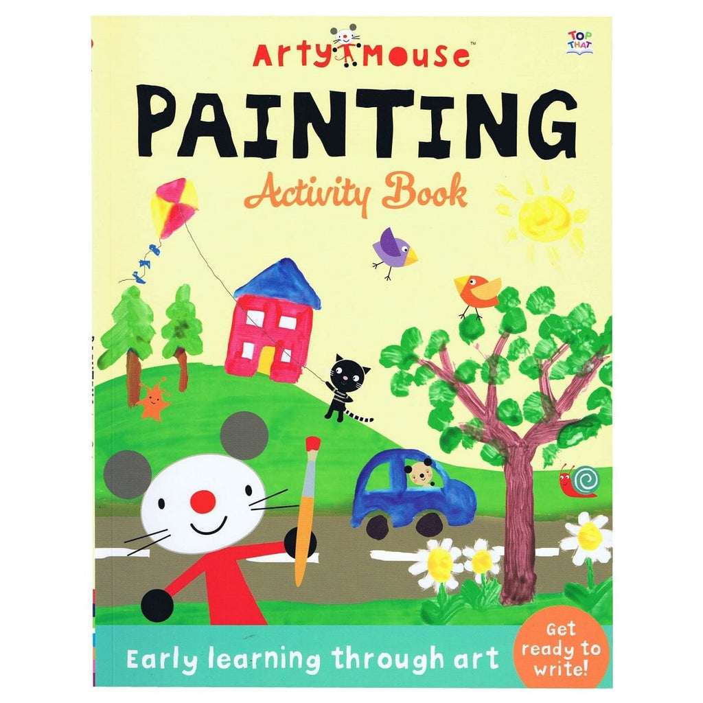 Arty Mouse Painting Activity Book - Early Learning Through Art - Daves Deals