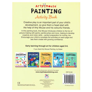 Arty Mouse Painting Activity Book - Early Learning Through Art, [Product Type] - Daves Deals