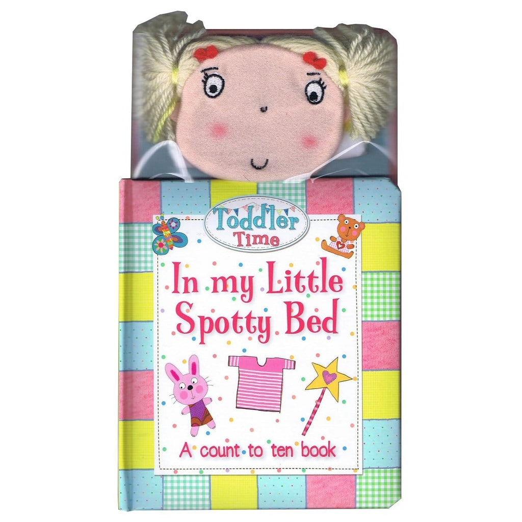 In My Little Spotty Bed - A Count to Ten Book - Daves Deals