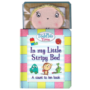 In My Little Stripy Bed - A Count to Ten Book - Daves Deals