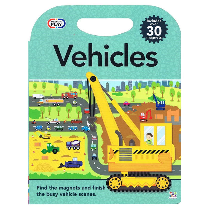 Magnetic Play Vehicles