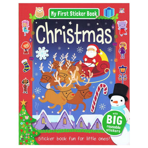 My First Sticker Book - Christmas