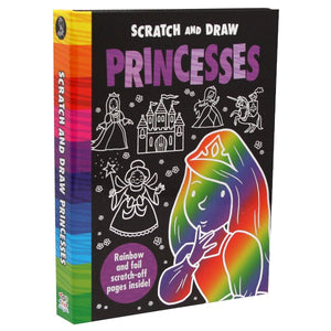 Scratch And Draw Princesses, [Product Type] - Daves Deals