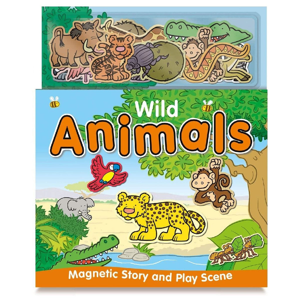 Magnetic Story and Play Book - Wild Animals