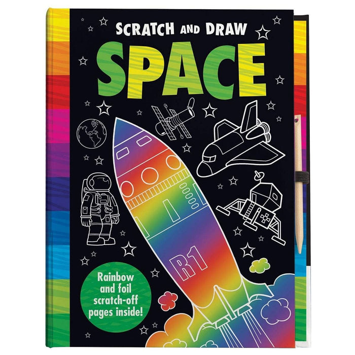 Scratch & Draw - Space