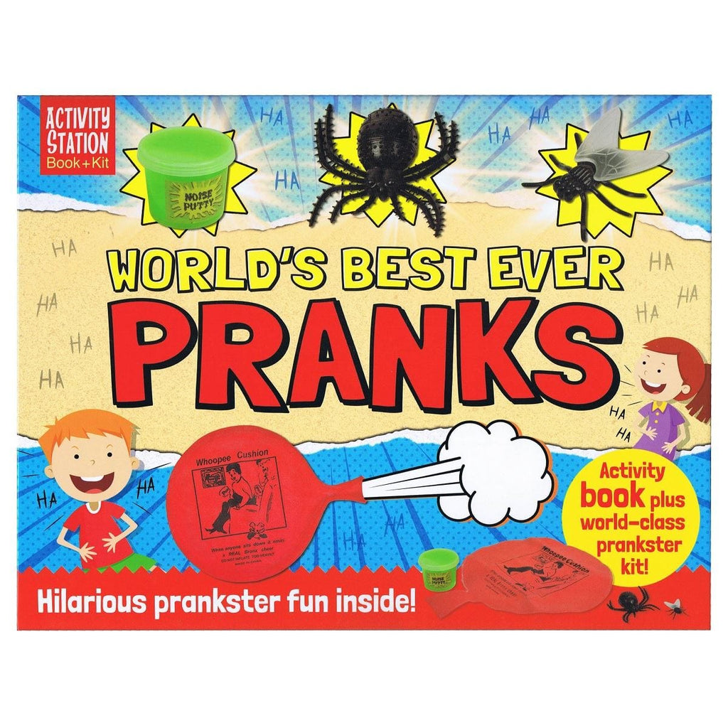 World's Best Ever Pranks - Activity Station Book + Kit