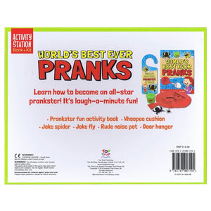 World's Best Ever Pranks - Activity Station Book + Kit, [Product Type] - Daves Deals