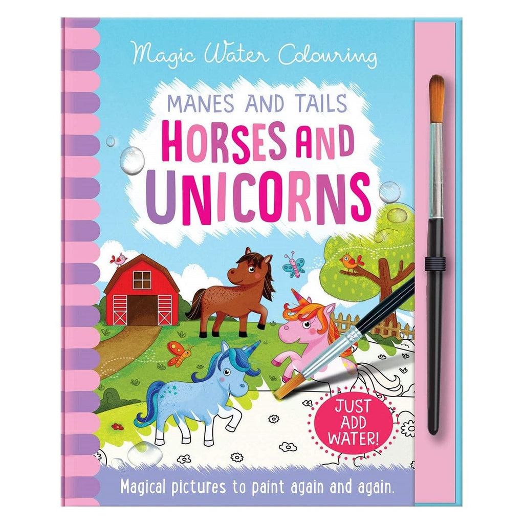 Magic Water Colouring Manes and Tails Horses and Unicorns - Daves Deals