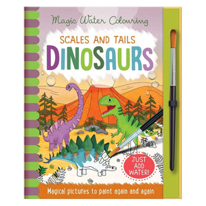 Magic Water Colouring Scales and Tails Dinosaurs - Daves Deals