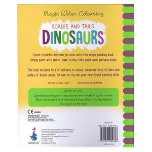 Magic Water Colouring Scales and Tails Dinosaurs, [Product Type] - Daves Deals