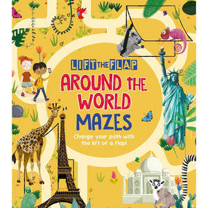 Lift-the-Flap: Around the World Mazes: Change Your Path with the Lift of a Flap!, [Product Type] - Daves Deals